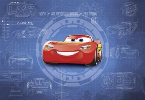 Fototapeta 8-488 Cars3 Blueprint