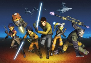 Fototapeta 8-486 STAR WARS REBELS RUN