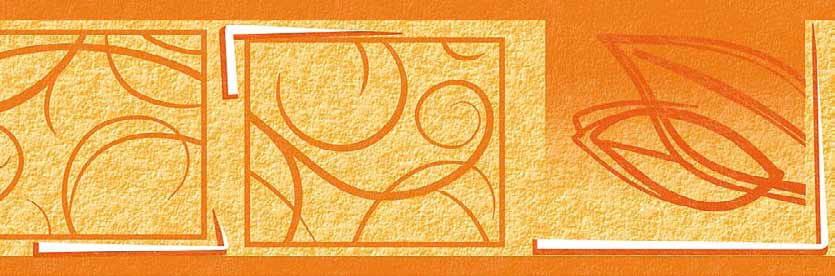 Border 69023 Art Deco Samoprzylepny